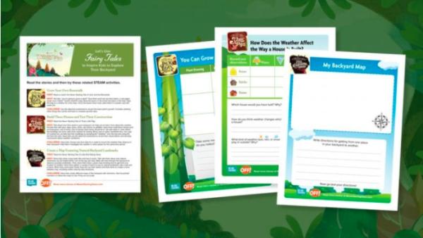 stem worksheets for series
