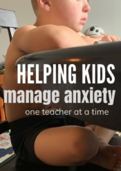 helping kids manage anxiety: one teacher at a time