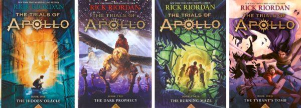 the 4 books of trials of apollo series