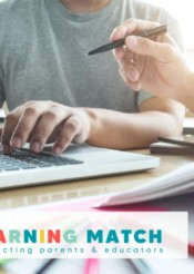 the learning match: connecting families with educators